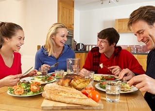 Host family accommodation North Wales