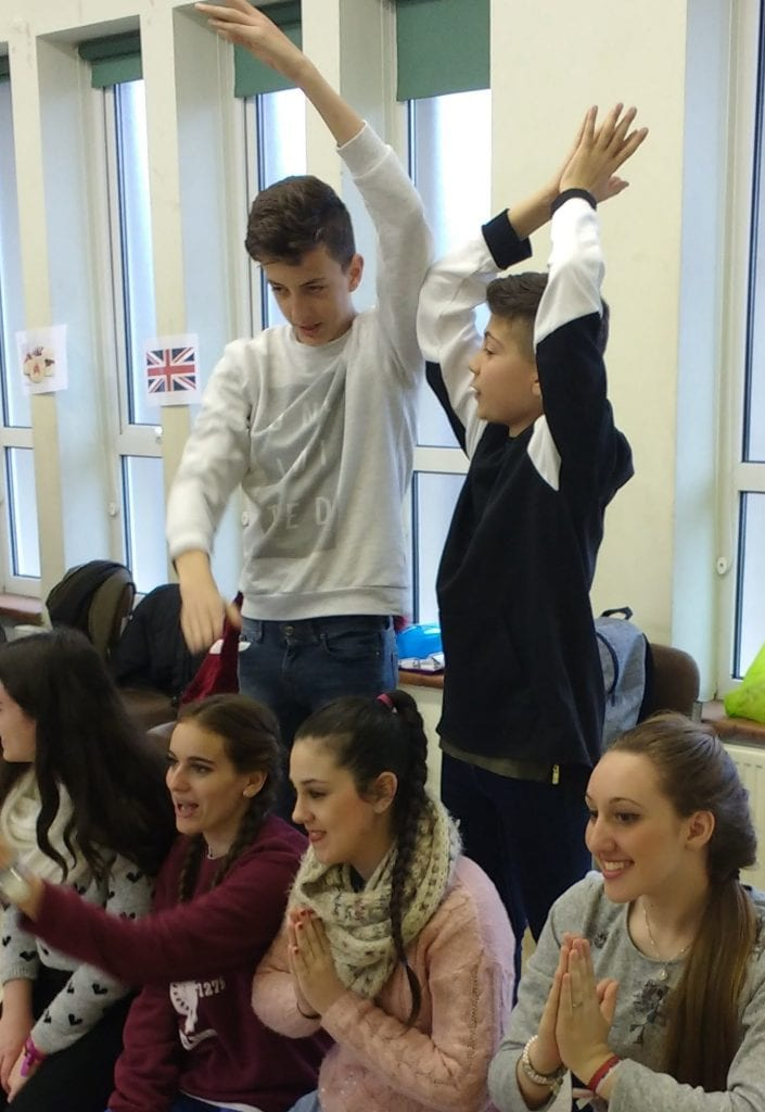 Drama workshop for school groups